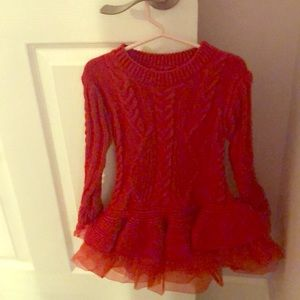 Other - Little girl red dress, perfect for holiday season